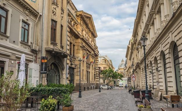 Centro antigo de bucareste, roménia