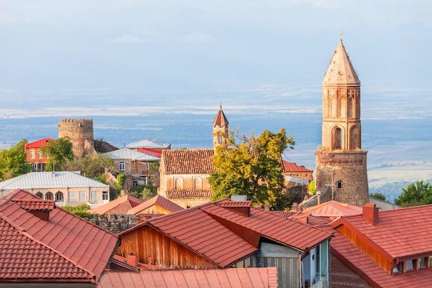 Centro da cidade de sighnaghi