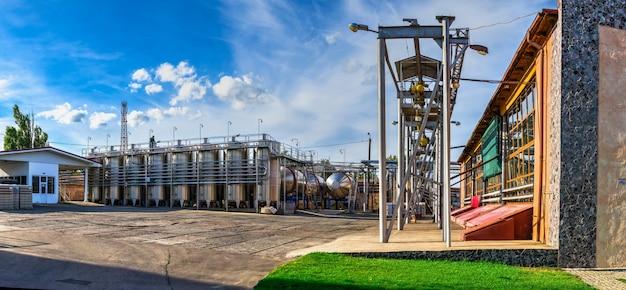 Centro de cultura do vinho e vinícola em shabo, ucrânia