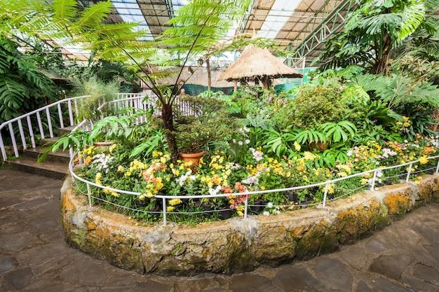 Centro de exposições de flores