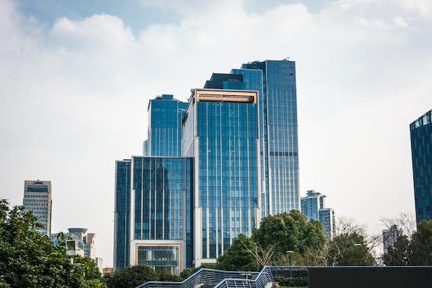 Centro de negócios moderno