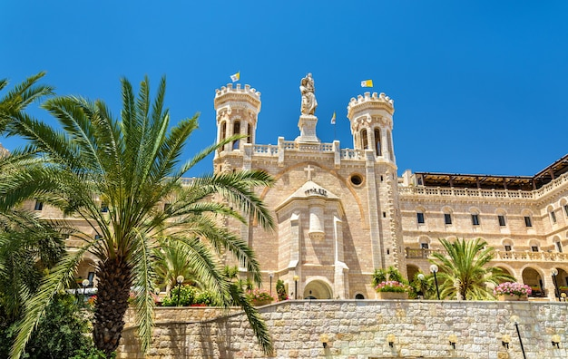 Centro notre dame de jerusalém, construído em 1885, - israel