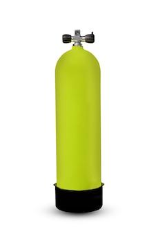 Cequipamento de cilindro de cilindro de ar isolado para respiração de mergulhador