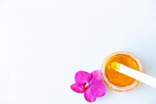 Cera de mel e flor