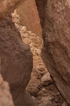 Cercas de fundo de textura de argila rachada