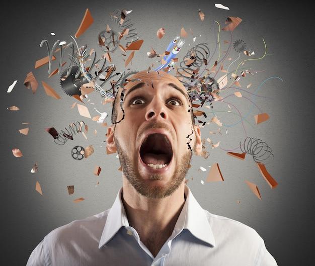 Cérebro estressado