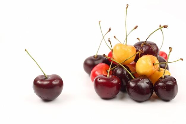 Cerejas de frutas vermelhas
