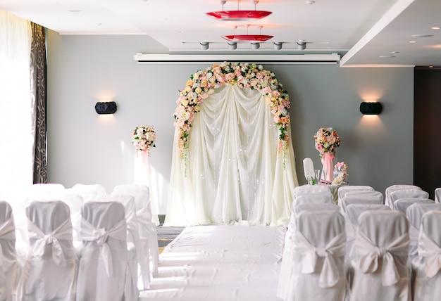 Cerimônia de casamento.