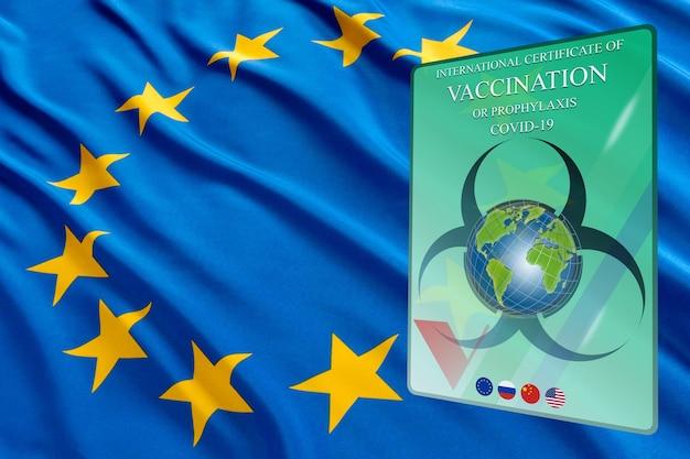 Certificado de vacinação covid19 documento de vacinação covid19 passaporte imunológico