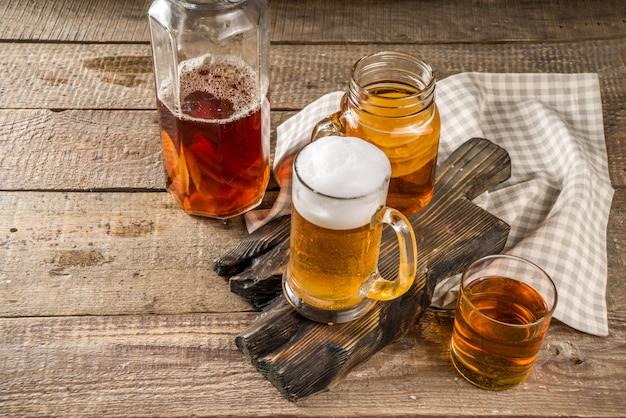 Cerveja caseira kombucha
