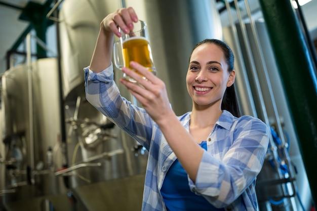 Cerveja feminina, teste de cerveja
