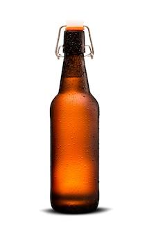 Cerveja homebrew em growler