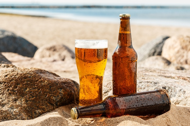 Cerveja na praia
