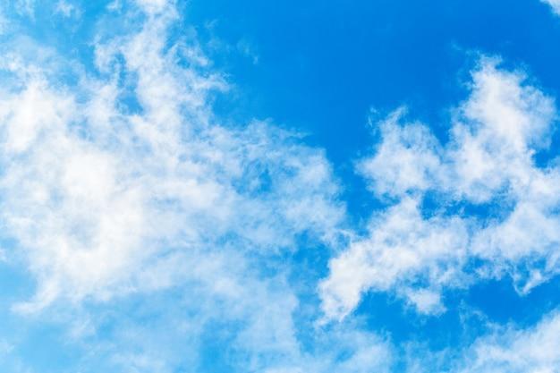 Céu azul, com, nuvens, fundo