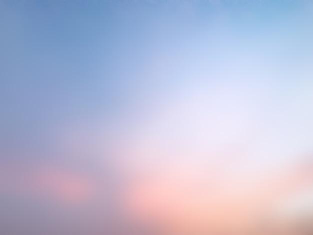 Céu borrado sumário colorido.