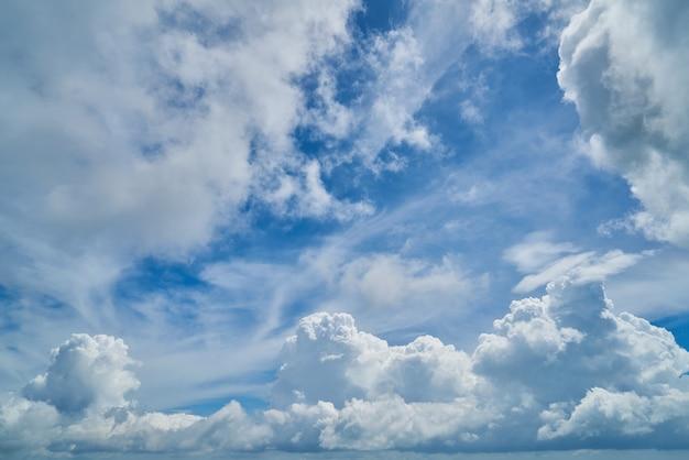 Céu cheio de nuvens
