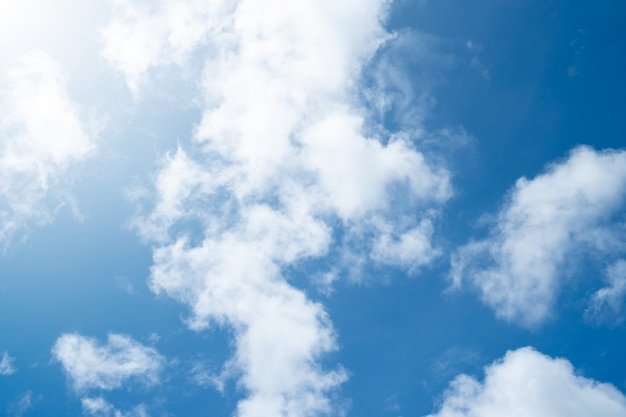 Céu da natureza.