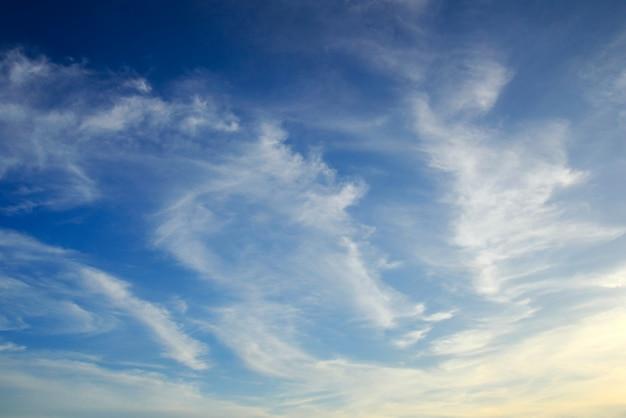 Céu do por do sol