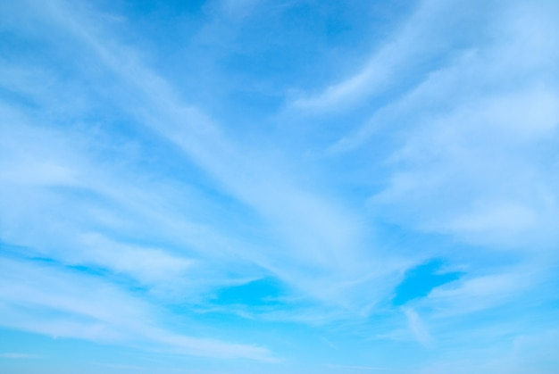 Céu e nuvens podem ser usados para superfície
