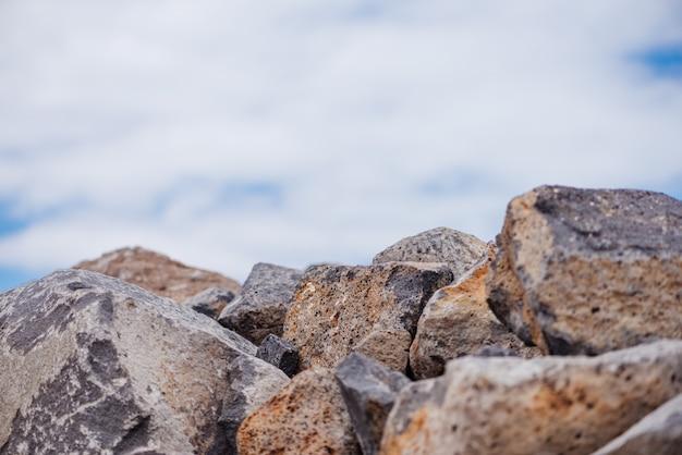 Céu e rocha