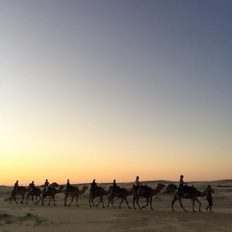 Céu moderno vários antigos marrocos