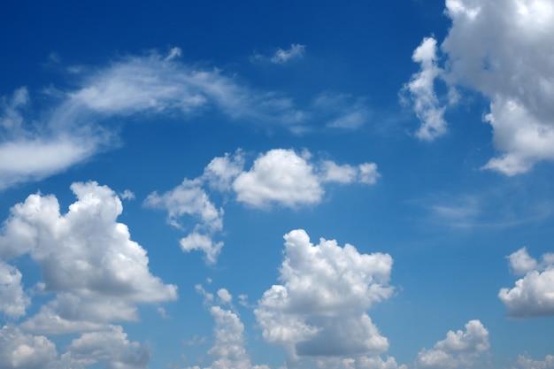 Céu natural com nuvem