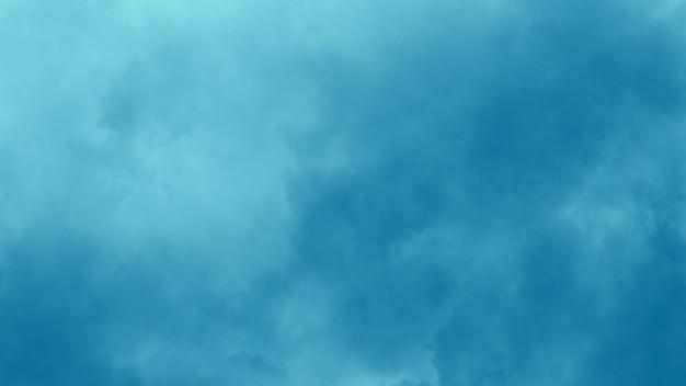 Céu nublado azul