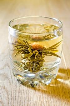 Chá chinês da flor de lótus