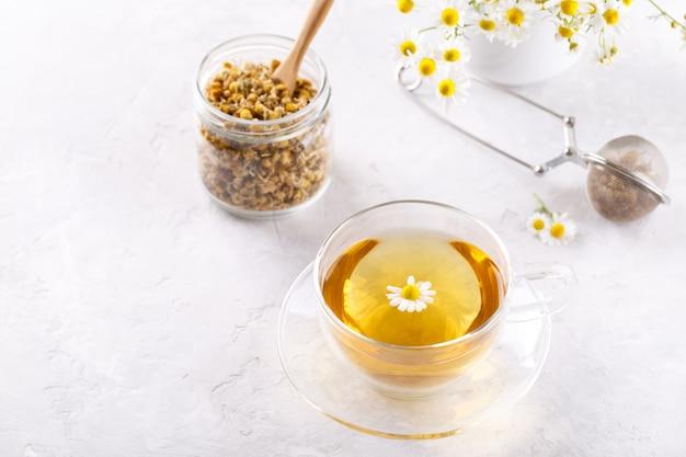 Chá de camomila saudável