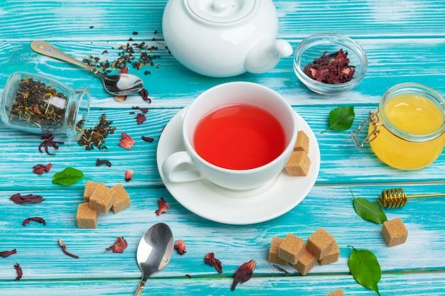 Chá de ervas saudável