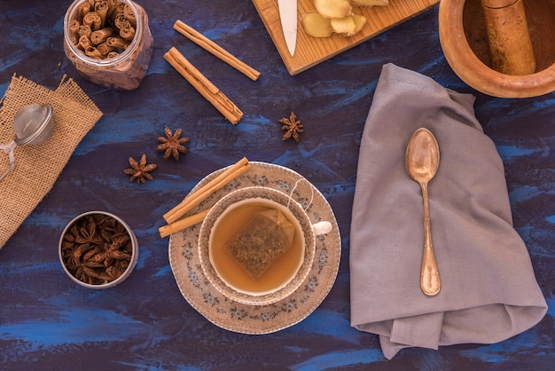 Chá de gengibre
