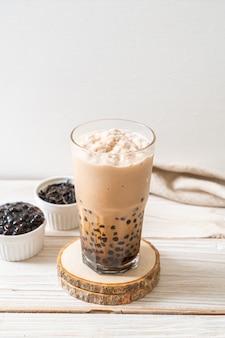 Chá de leite de taiwan com bolhas