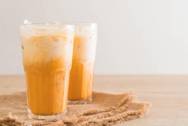 Chá de leite tailandês
