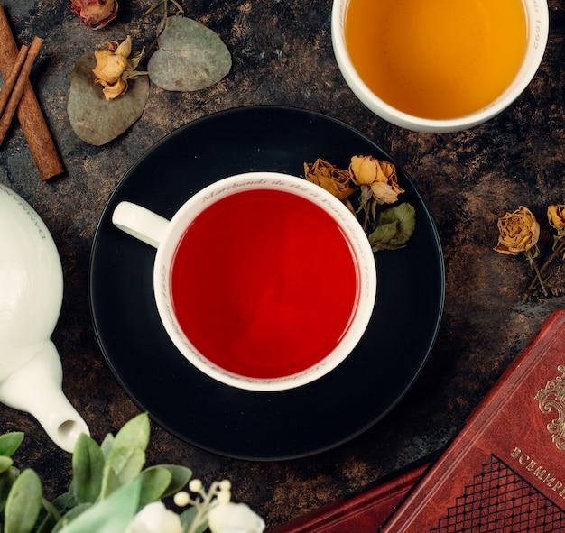 Chá em uma xícara