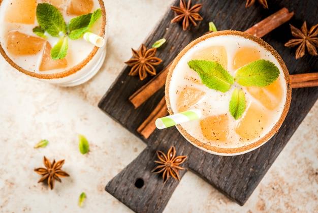 Chá gelado ou chai masala