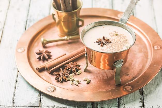 Chá indiano masala chai
