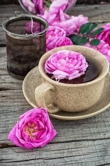 Chá rosa