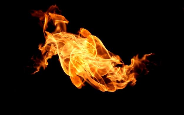 Chama calor fogo abstrato