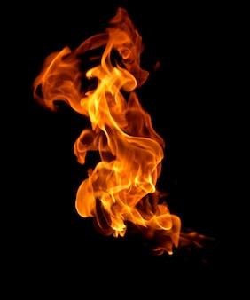 Chama calor fogo abstrato Foto Premium
