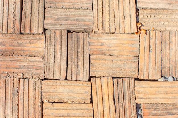 Chão de tijolo