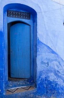 Chaouen a cidade azul de marrocos. chefchaouen