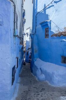 Chaouen a cidade azul de marrocos.chefchaouen