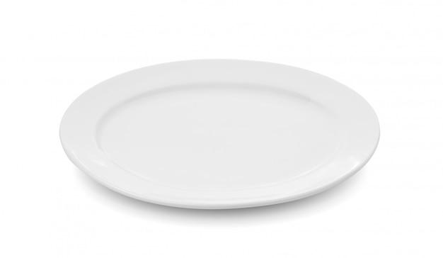 Chapa branca em espaço em branco