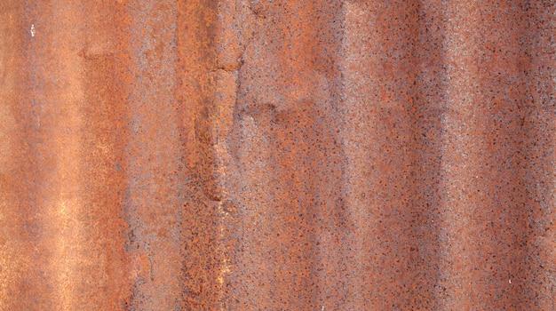 Chapa de ferro galvanizada enferrujada