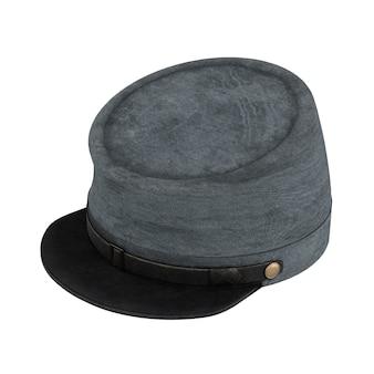 Chapéu de cavalaria da confederação da guerra civil