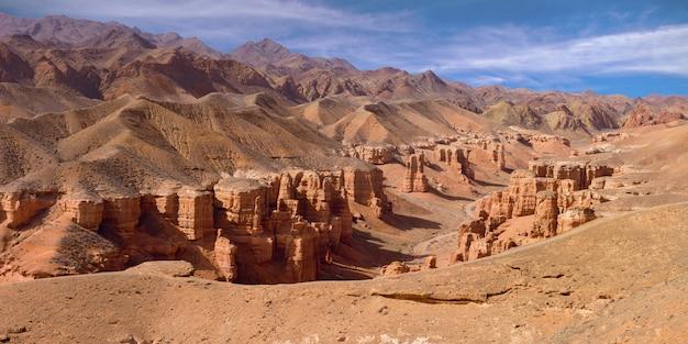 Charyn canyon no cazaquistão