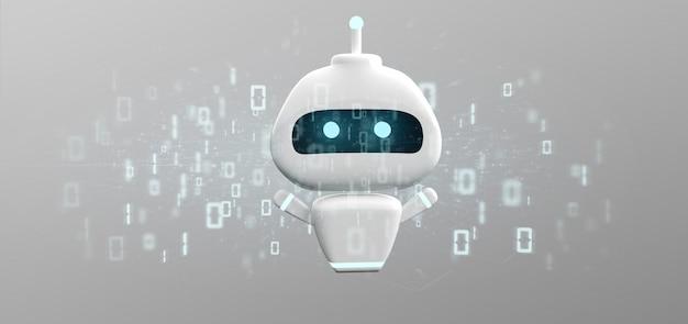 Chatbot com código binário
