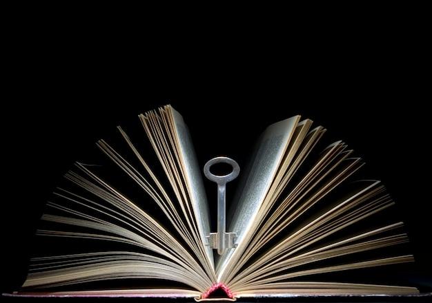 Chave e livro