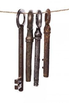 Chaves ornamentadas antigas