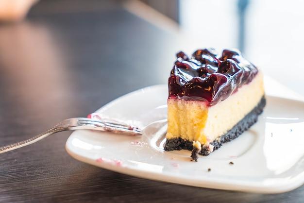 Cheesecake de mirtilo